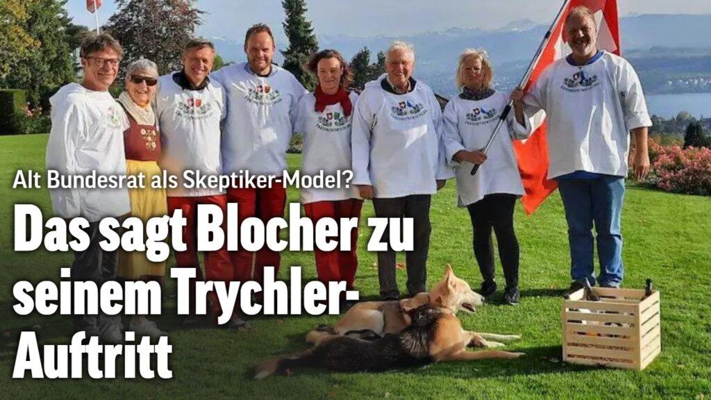 Blocher Christoph #Freiheits-Trychler #Held #Patriot